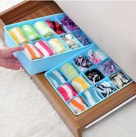 Y179 drawer grid superimposed Gedo washable underwear bra underwear socks storage box