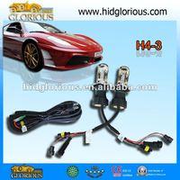 HID Hi /Lo xenon lamp light  2pcs 55W H4-3 H13-3 9004/9007-3 bi xenon bulb 4300K 5000K 6000K 8000K,h4 xenon bulb