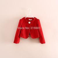 Wholesale  ! 2014 Girls fashion sweet coat  , kids jacket , 5pcs/lot  YS187