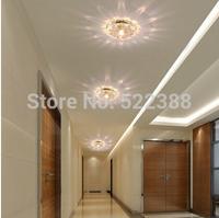3w Crystal Ceiling Lamp 110V220V230V240V Lights abajur 10CM Bedroom Ceiling Chandelier Modern Lamp Corridor Lampshade Luminaria