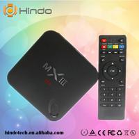 Newest MXIII XBMC Quad Core Android TV Box Amlogic S802 2GB/8GB Mali450 GPU 4K HDMI Bluetooth Android 4.4 KitKat Mini PC