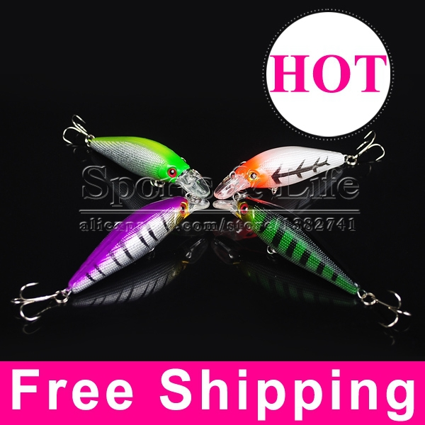 Carp Bait Fishing Lure Wobbler Minnow 10 3g 8 5cm Crankbait Pesca Hard Treble Tackle Artificial