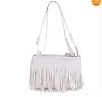 Fashion Fringe Tassel Shoulder Messenger Bag Hand Style Women lady Satchel free shipping W1244