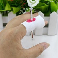 April Fool's Day Funny whole person wearing finger nail Tricky Funny spoof creative novelty toys Nail Through Finger