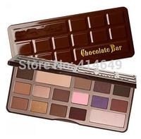 New Brand Makeup Chocolate Bar Eye Shadow Collection Makeup 16 Colors Palette sombra maquiagem paleta de sombras 13.3g