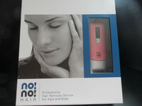 Best selling no!no! hair Professional Hair Removal Kit for body abd face rechargable free shipping