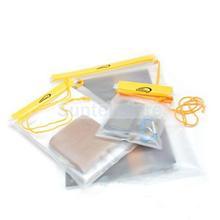 New 2014 Brand New 3Pcs PVC Waterproof Camera Cellphone Documents Pouch Sundry Bag(China (Mainland))