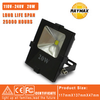2pcs/lot led floodlight 20w 110-240v led spotlight IP65 protection level