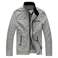 Hot Sale 2014 New Brand Mens Jacket Spring Brand Casual Soild Zipper Jackets Coat For Men,Outdoors Sportswear Free Shipping