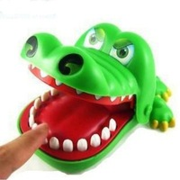 Toys & Hobbies Novelty & Gag Toys Gags & Practical Jokes Big mouth crocodile will bite your fingers