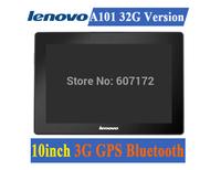 Hot Sale!10 inch Lenovo A101 Tablets Internal 3G GPS Bluetooth RAM 2GB HDD 32GB SIM Call Android 4.2 Camera 5.0MP Free Shipping!