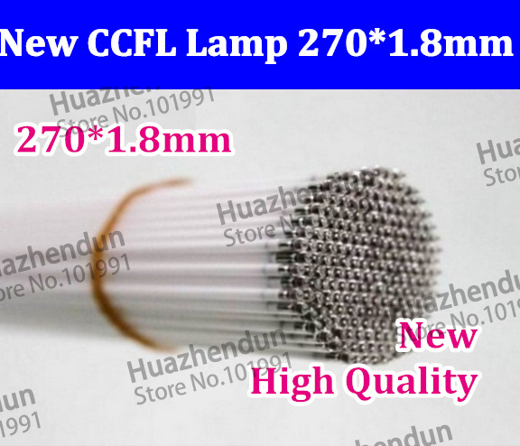 270mmHigh Quality CCFL Lamp 50PCS Supper Light CCFL 270*1.8mm 12.1inchLCD Backlight Lamp ccfl backlight tube(China (Mainland))
