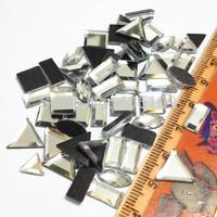 MIX SHAPES 144Pcs/lot Hotfix Rhinestone Crystal Color DMC Flatback iron On Crystal Stones