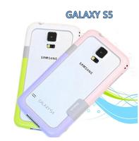 S5 zenus bumper, Zenus Walnutt Color Shock TPU Bumper Frame  for Samsung Galaxy S5 I9600 G900 + Free Shipping