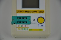 New LCR-T5 Transistor Tester Diode Triode Capacitance ESR Meter Free Shipping