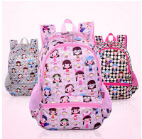 Girl Character School Bag 2014 New Style Backpack Children Primary Randoseru Student Bag Free Shipping