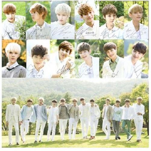 EXO-K-EXO-M-Nature-Republic-Signature-Cards-PVC-Cards-Chanyeol-ChenExo Nature Republic Chanyeol