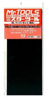 MR. HOBBY GSI WaterProof Sandpaper, MT-301, 6 in 1, 2pcs #400, 2pcs #600, 2pcs #1000, 230mm*93mm, MADE IN JAPAN