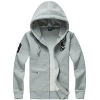 Men brand fashion casual wear Hoodies zipper cardigans sweatshirts M-XXL Long sleeve with hooded Winter Plus size 2XL