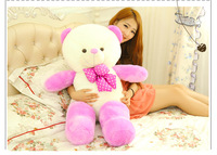 Freeshipping 160cm  teddy bear doll hug the bear plush toy bear cute doll female birthday is valentine's day gift