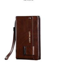 LENWE BOLO Men Wallets Fashion Genuine Leather Wallet Men Purse BL0571