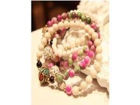 F07730 Fashion Blessing Colorful Garnet Beads Multilayer Women's Bracelet Chain Bracelets+Free shipping