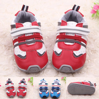 In stock 2014 new arrival baby prewalker toddler shoes infant PU prewalker  Little Spring GTJ-X0233