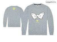 Wu Tang fashion long sleeve T-shirt for man pullovers Brand Men's Casual tee shirts high Quality Cotton male full sport T shirt