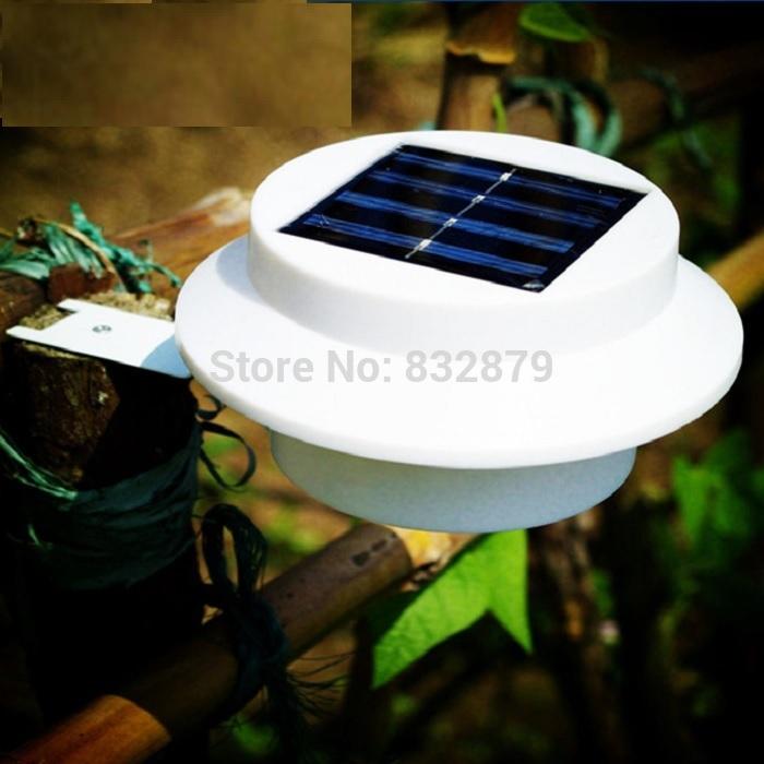 Super Bright Yard Lamp Solar Panel Garden Light 3 LED Lights Outdoor Home Dec