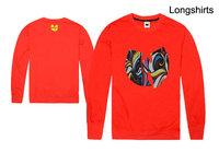 New autumn wu tang hip hop classic Graphic print t-shirt mens sport clothing full sleeve tee shirt cotton casual tees & tops