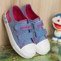 Autumn 2014 models of child canvas shoes princess shoes girls shoes rivets