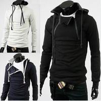 2014 New High Collar Fashion Casual Sports Hoodies & Sweatshirts Coats&Jackets Top Brand Clothing.