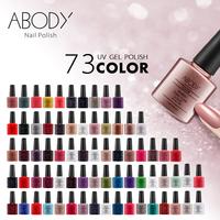 New Arrival!! Choose 3 pieces In New 73 Colors Abody UV Gel Polish 7.3ml 0.25fl oz Nail Gel