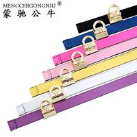 Strap Women women's genuine leather belt fashion all-match brief decoration genuine leather belt