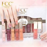 2014 Environmental protection non-toxic  French FCC 7ml * 7  Bare branch Colors Nail Polish Free Shipping