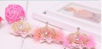Fashion  Cute Princess headwear hair accessories crown tiara hairbands children kids girl baby gift Hair Band Headband