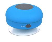 Portable waterproof Wireless Bluetooth shower Speaker with mic mini Handsfree Mic Suction Shower In-car Speaker With Sucker