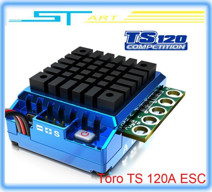 5 pcs SKYRC Toro TS 120A Sensor Controller ESC Support Bluetooth module for 1/10th Scale rc nitro car drift car l remote control(China (Mainland))