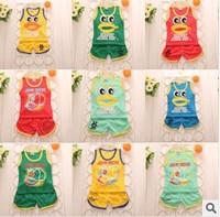 Summer explosion baby Korean two piece set selling children suit children cotton infant Cartersin child wholesale