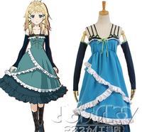 High quality black bullets Tina-prandtl anime cosplay costume one piece dress