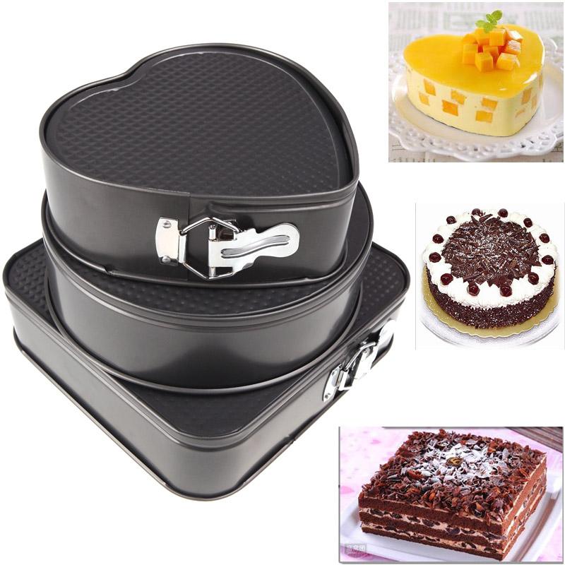 Keuken Accessoires Set : Square Cake Pan Set