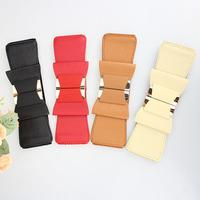 New arrive women wide elastic belt bowknot belt Design Alloy Korean belts for women  Fashion apparel accessories Free shipping