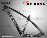 2014 new model de rosa  carbon mountain bike frame 27.5 MD01 De rosa mtb bike frame road bike frame 27.5er mendiz rx6 rx7 rx9