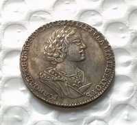 1724 russian 50 Kopeks coin COPY FREE SHIPPING