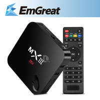 MX3 Quad Core Android Smart TV Box Google Android 4.4.2 Amlogic S802 4K*2K HD 2G/8G WIFI Remote Control P0015355 Free Shipping