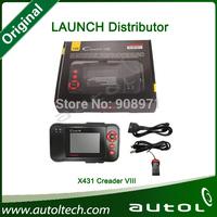 Launch Diagnostic Tools For All Cars LAUNCH X431 Creader VIII  Auto Scanner Online Update Multilanguages Original Genuine X431