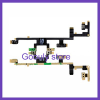 For iPad 3 power on off switch volume silent mute button flex cable ribbon for ipad3 1Pcs/Lot free shipping
