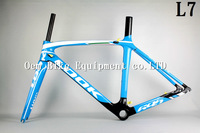 2014 LOOK 695 L7 paint with frame road bike carbon frame colnago cycling bike carbon seat post clamp carbon bottle cage