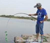 2.1M Portable Carbon Fiber Telescopic Fishing Rod  Fishing Pole cana de pescar vara de pesca fiskespo hengel slat iascaireachta