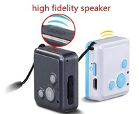 Free shipping personal GPS tracker for kids elder parent RF-V16 Mini SOS function Dual Talk Platform Long Standby Time Black
